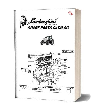 Lamborghini 660 F plus parts catalog