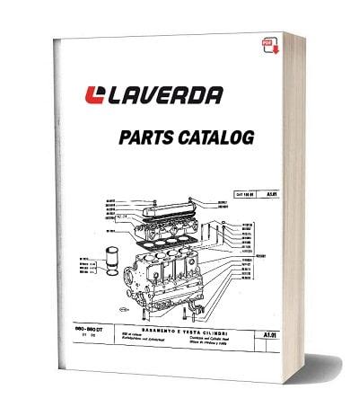 Laverda Header L660 parts catalog