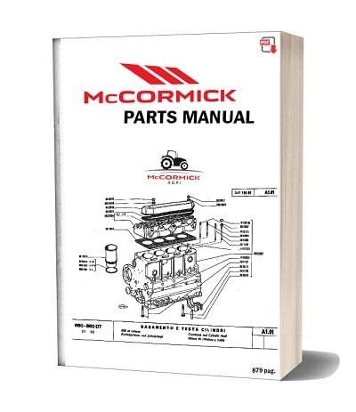 McCormick B max 90 parts catalog