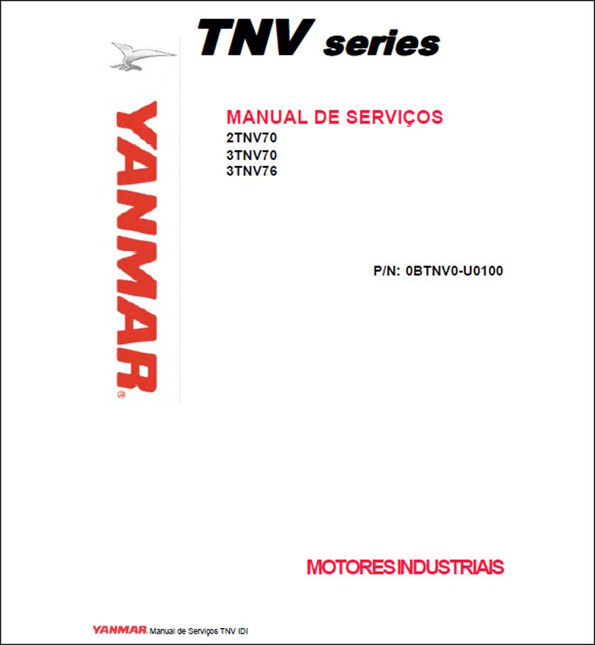 Yanmar 2TNV70 3TNV70 3TNV76 service manual