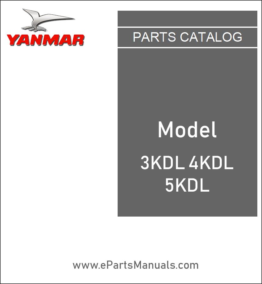 Yanmar 3KDL 4KDL 5KDL service manual