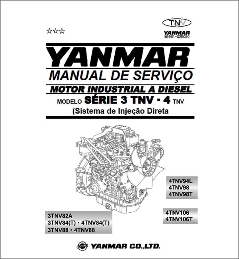 Yanmar 3TNV 4TNV service manual