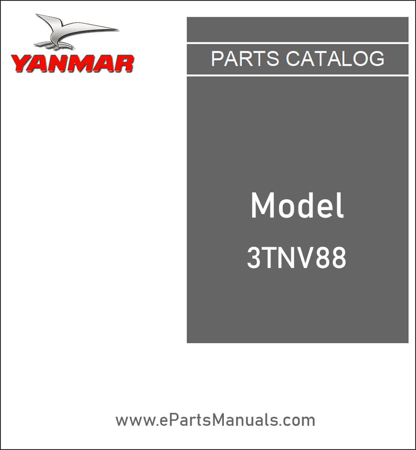 Yanmar 3TNV88 spare parts catalog