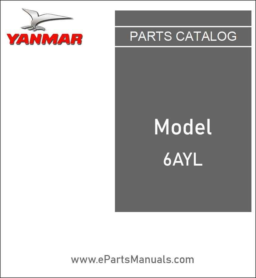 Yanmar 6AYL spare parts catalog