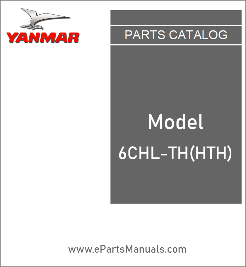Yanmar 6CHL-TH(HTH) spare parts catalog