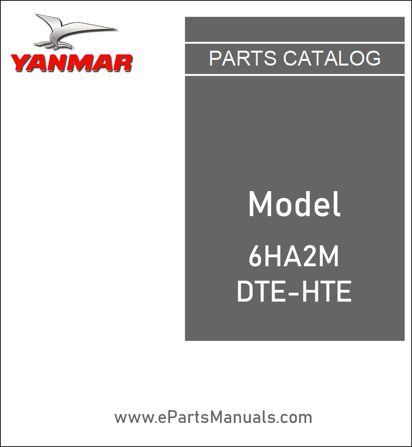Yanmar 6HA2M-DTE-HTE spare parts catalog