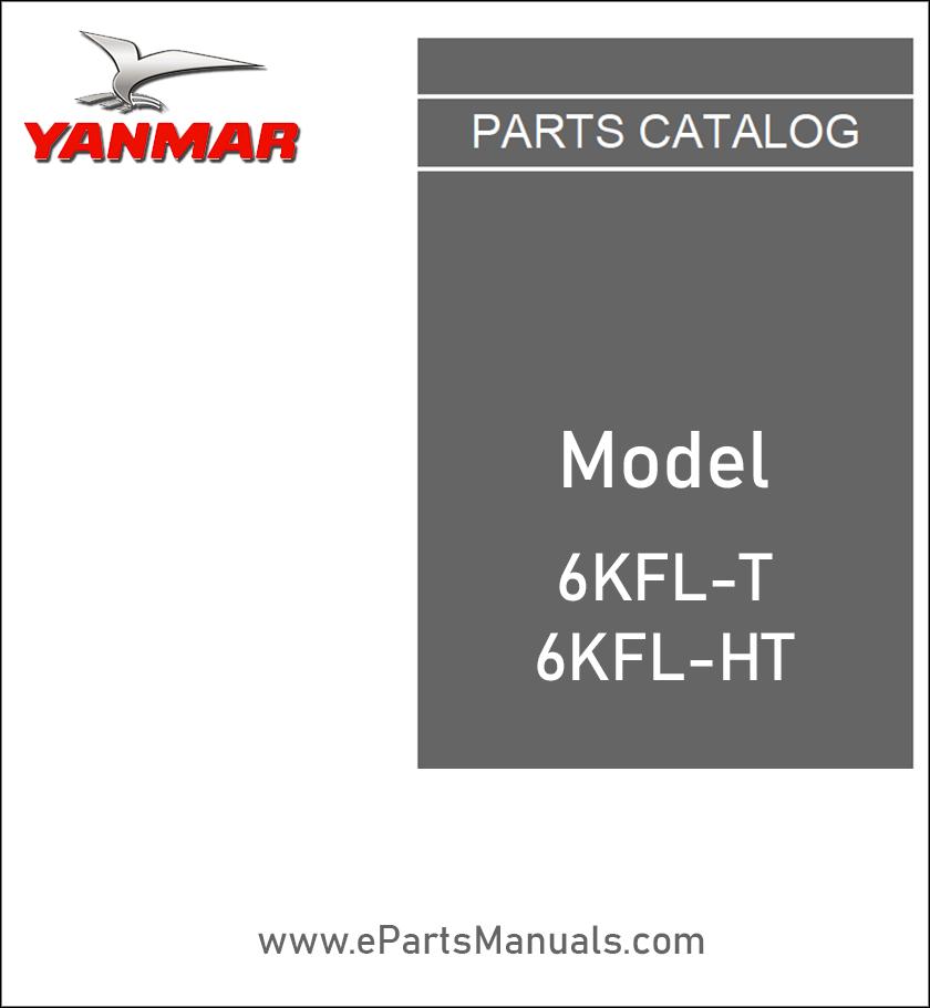 Yanmar 6KFL-T 6KFL-HT spare parts catalog