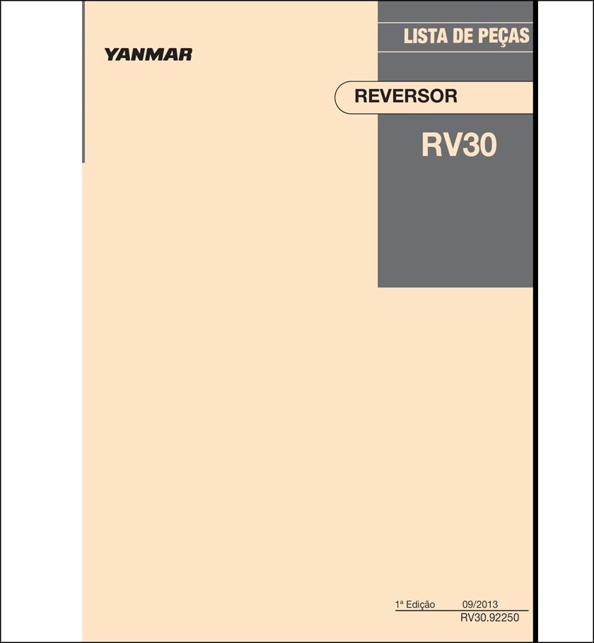 Yanmar LP RV30 spare parts catalog