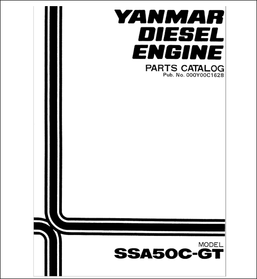 Yanmar SSA50C spare parts catalog