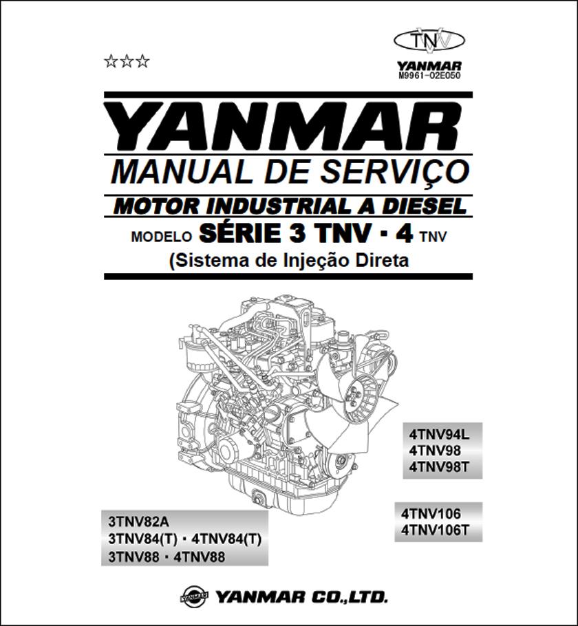 Yanmar TNV82A TNV106 service manual
