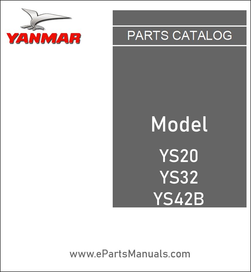 Yanmar YS20 YS32 YS42B spare parts catalog