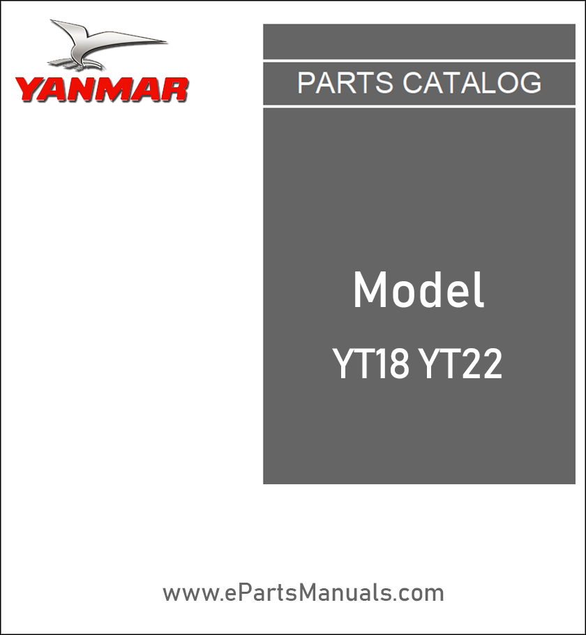Yanmar YT18 YT22 spare parts catalog