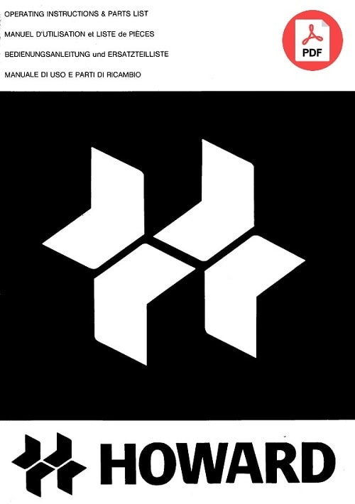 Howard-Parts-Catalog-Manual