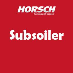 Horsch Subsoiler Spare Parts List Manual