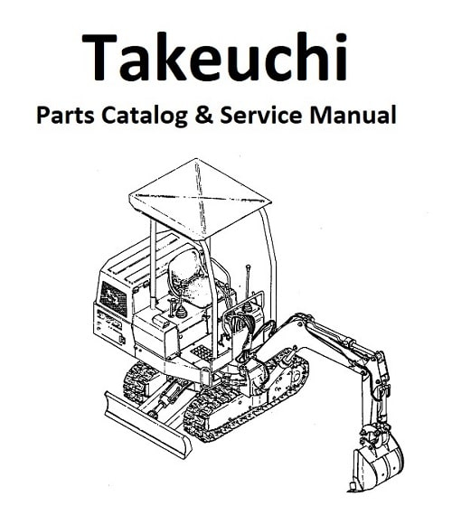 Takeuchi-TB10S-Parts-and-Service-Manual