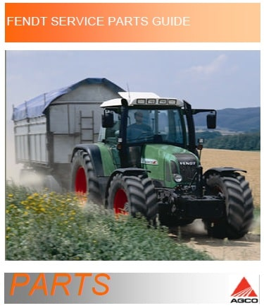 Fendt Parts Catalogs and Service Manuals Collection