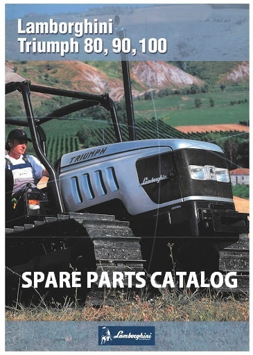 Lamborghini Tractor Spare Parts Catalog Manuals Collection
