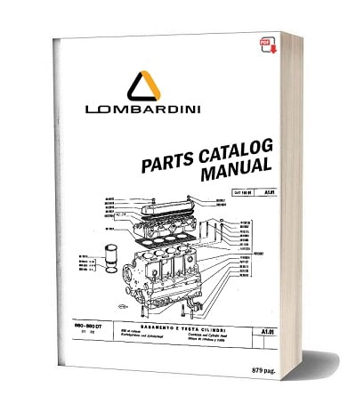 Lombardini Parts Manual Catalog Collection Online