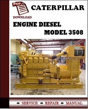 Caterpillar 3508 Technical Manual