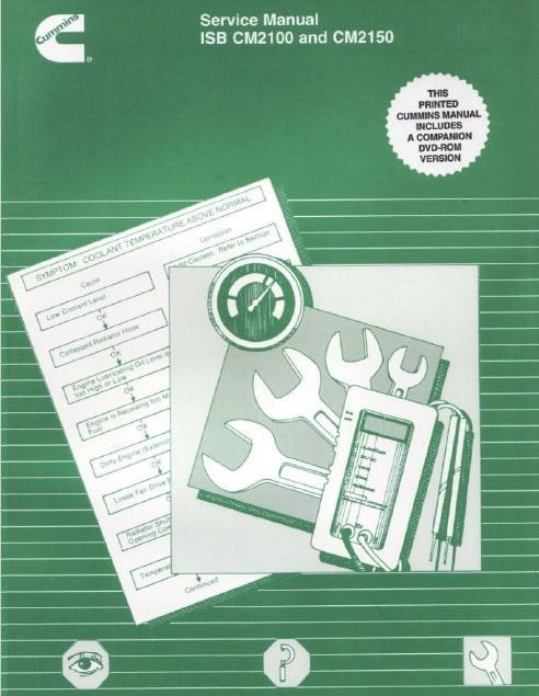 Cummins ISB CM2100 CM2150 repair Manual