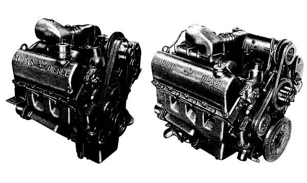 Cummins V6-200 V8-265 SVC Parts Manual
