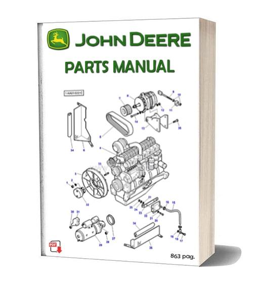 John Deere Continental Engine parts manual